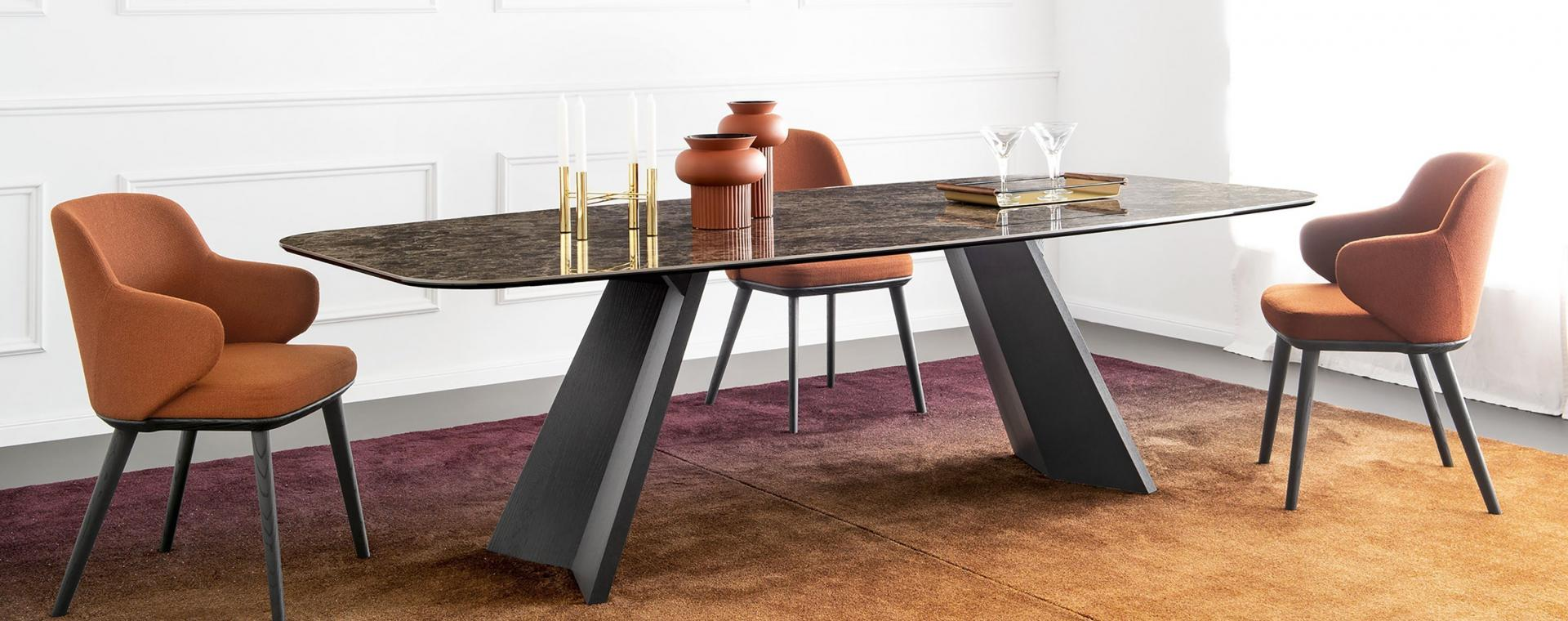 Calligaris dining table furniture takis angelides furnihome cyprus