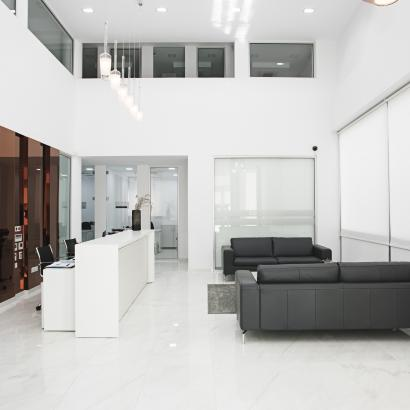Modern Contemporary minimalist scandinavian offices by Takis Angelides Furnihome Cyprus