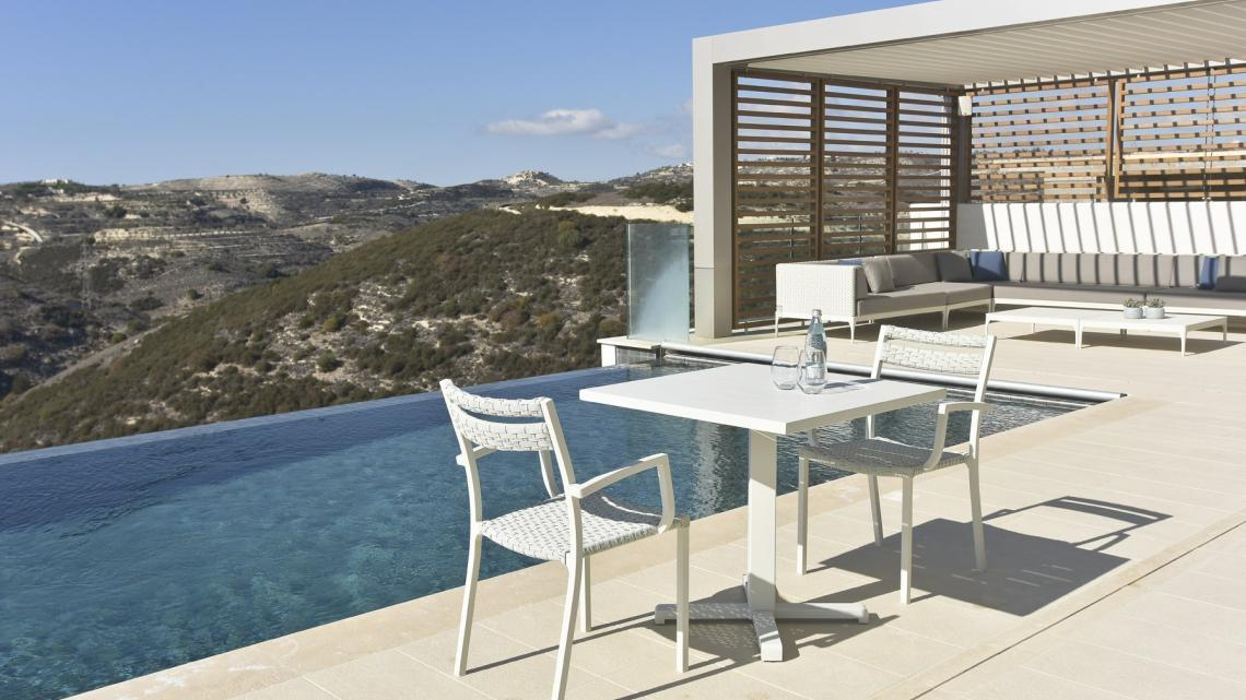 MODERN, CONTEMPORARY, MINIMALIST, SCANDINAVIAN, HOLLYWOOD GLAM outdoor by Takis Angelides Furnihome