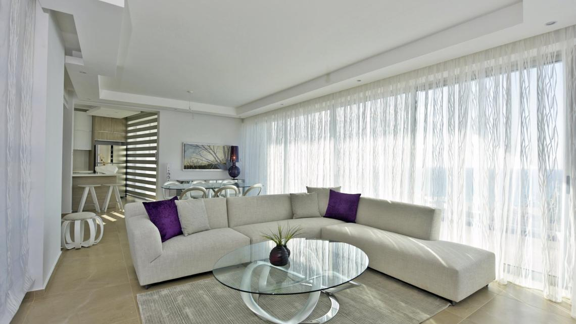 Contemporary, modern, scandinavian living room by Takis Angelides Furnihome Cyprus