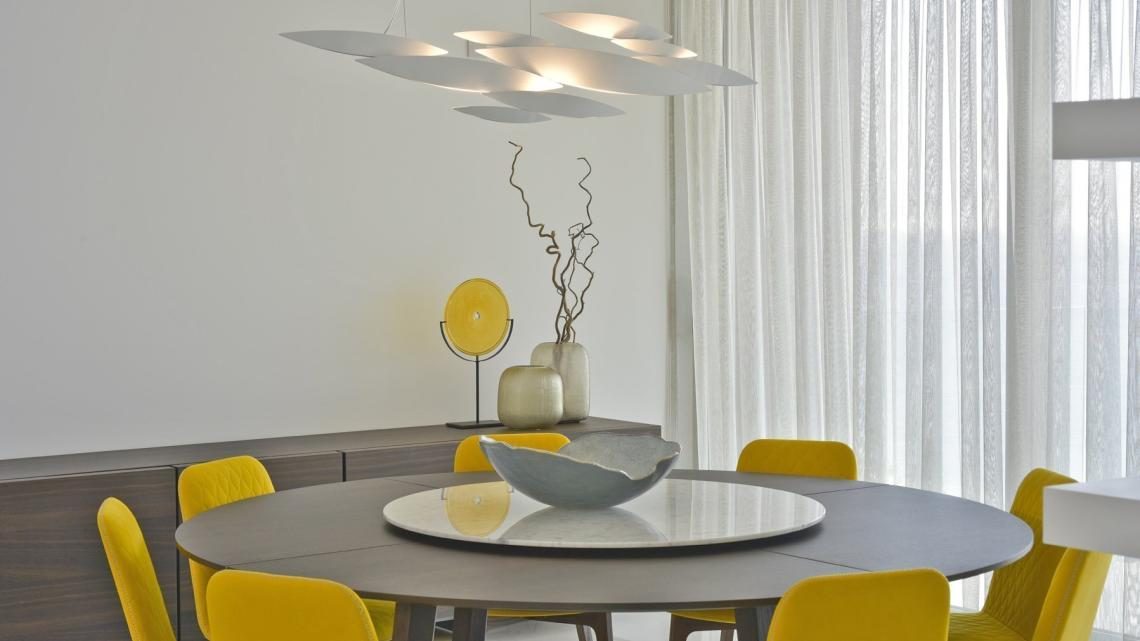 Contemporary, modern, sleek dining room by Takis Angelides Furnihom