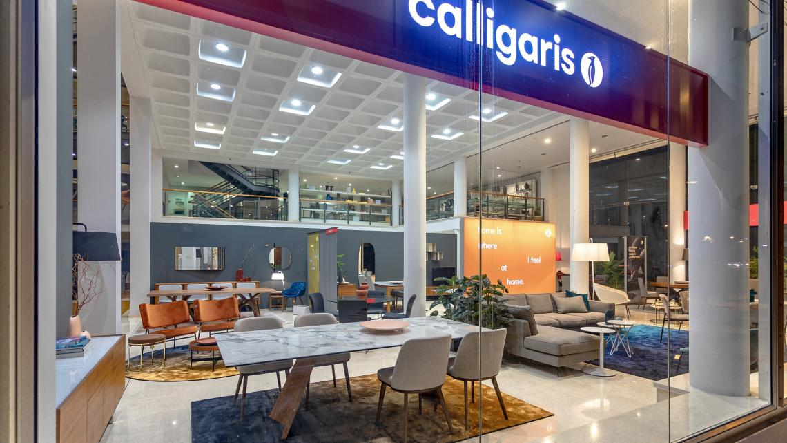 Modern, contemporary, italian design Calligaris & Connubia studio by Takis Angelides Furnihome Cyprus